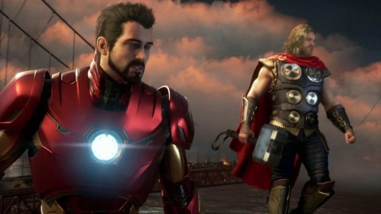 homem de ferro e thor Avengers