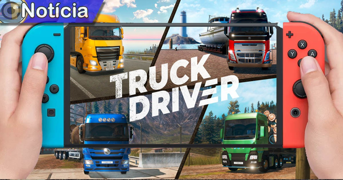 truck driver Game em foco