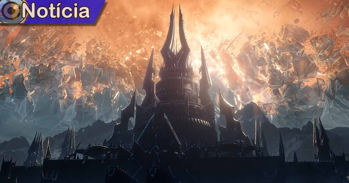 World of Warcraft Shadowlands Game em Foco