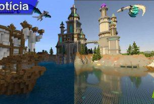 Minecraft com RTX Game em foco