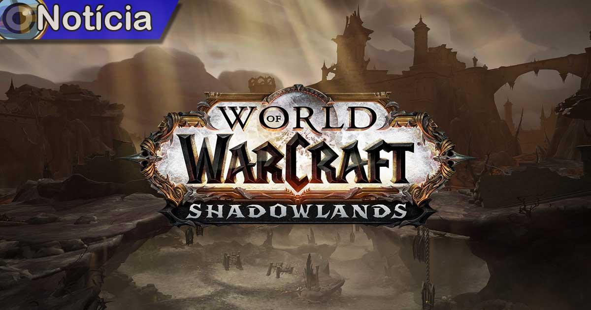 World of Warcraft: Shadowlands Game em foco
